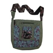 Bags with patchwork or fabric samples