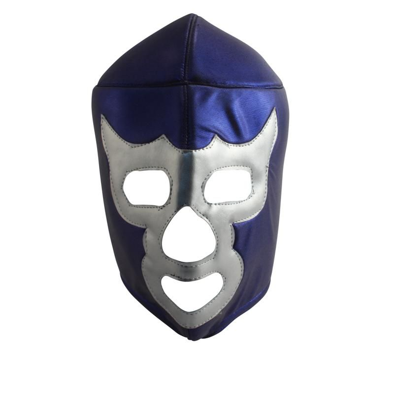 mexikanische wrestling maske lucha libre blue demon 29 9. Black Bedroom Furniture Sets. Home Design Ideas