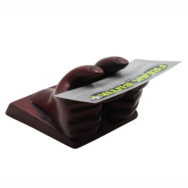 Business Card Holder Hands 7 Cm Bordeaux 143 44 Kr