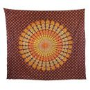 Bedcover ° decorative cloth ° Mandala °...