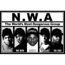 Poster ° N.W.A. - The world's most dangerous group