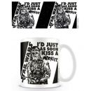 Tasse ° Star Wars - Id just as soon kiss a Wookie...