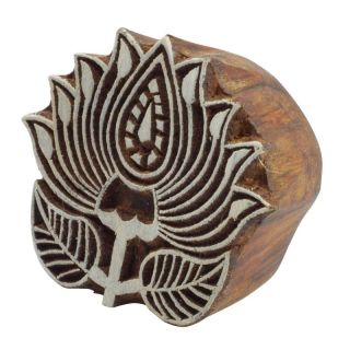 Wooden Stamp ° Water Lily ° 1,9