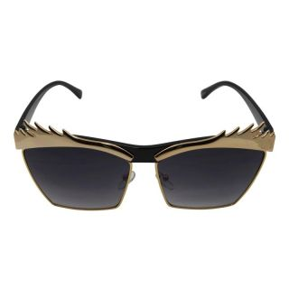 Retro Sunglasses ° Eyebrows ° golden black