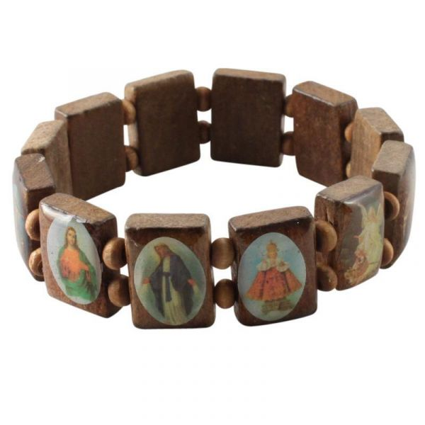 wooden wristband