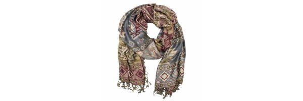 Pashmina style scarves