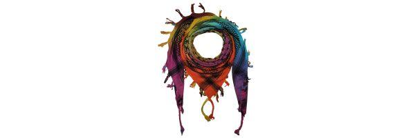 colourful dyed - Batik