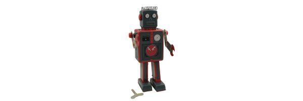 Tin robots & Space