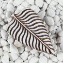 Stempel aus Holz - Blatt 01 - 9,5 cm - Holzstempel