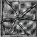 Palituch - Karomuster klein schwarz - grau - Kufiya PLO Tuch