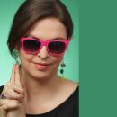Freak Scene Sunglasses - L - pink