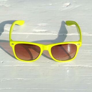 Freak Scene Sonnenbrille - L - gelb 01