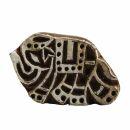 Stempel aus Holz - Elefant - klein - 4 cm - Holzstempel