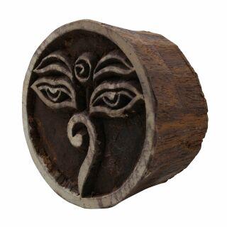 Stempel aus Holz Welle Holzstempel