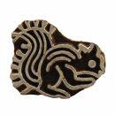 Stempel aus Holz - Eichhörnchen - 4 cm - Holzstempel
