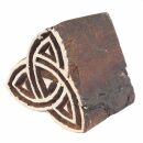 Stempel aus Holz - Keltischer Knoten - 3 cm - Holzstempel