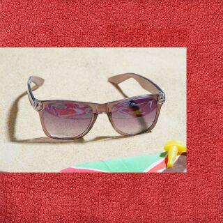 Freak Scene gafas de sol - L - marrón transparente 1