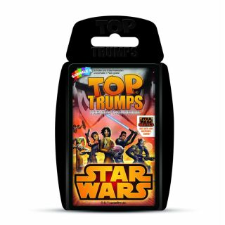 Kartenspiel-Quartett - Star Wars Rebels - Top Trumps