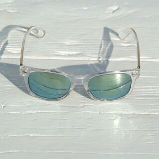 Freak Scene Sonnenbrille - L - transparent 3