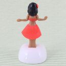 Wackelfigur Solar - Hula Girl - orange