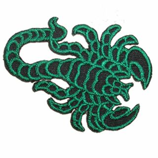 Parche - Scorpio - negro verde