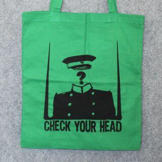 Bolsa de tela - Check your head - Bolsa de mano