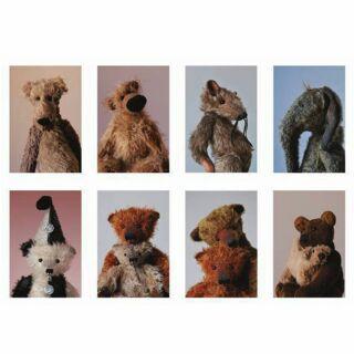 Postkarte mit Aufkleber - Kleine Freunde 06 - Stickerkarte