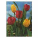 3D Lenticular Postcard - Flower 1 - Postcard with effect