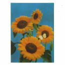 3D Lenticular Postcard - Flower 2 - Postcard with effect