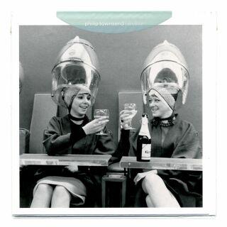 Grußkarte - Under the Dryers von Philip Townsend - Postkarte