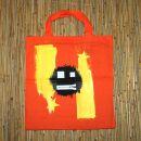 Stofftasche - Zipper Smile 3 - Stoffbeutel -...
