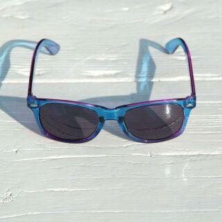 Freak Scene gafas de sol - M - azul transparente