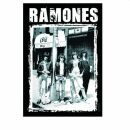 Posterfahne - Ramones - Bandfoto - Fahne
