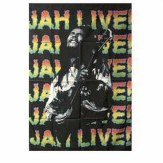 Póster bandera - Bob Marley - Jah Live