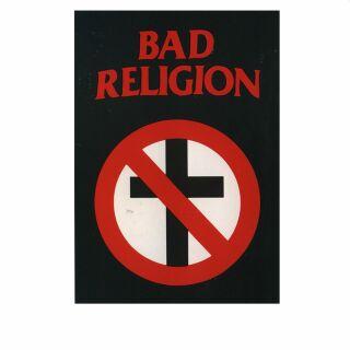 Postkarte - Bad Religion - Logo