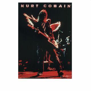 Postal - Nirvana - Kurt Cobain