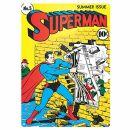 Blechschild - Superman - No.5 Summer Issue - Nostalgie...