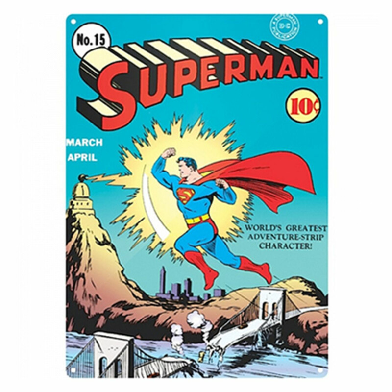 Blechschild - Superman - No.15 - Nostalgie Schild