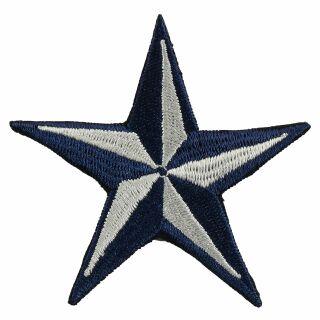 Patch - Nautical Star - dark-blue-white
