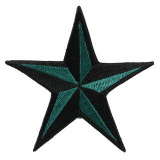 Patch - Nautical Star - black-green
