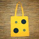 Stofftasche - Points - Stoffbeutel - Einzelstück