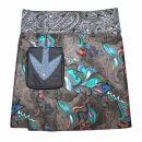 Wickelrock - Emerald - Stoff Muster Paisley - Blumen -...