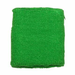 Schweißband einfarbig - grün - neongrün