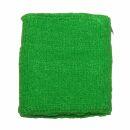 Banda de sudor - brazo - verde neón