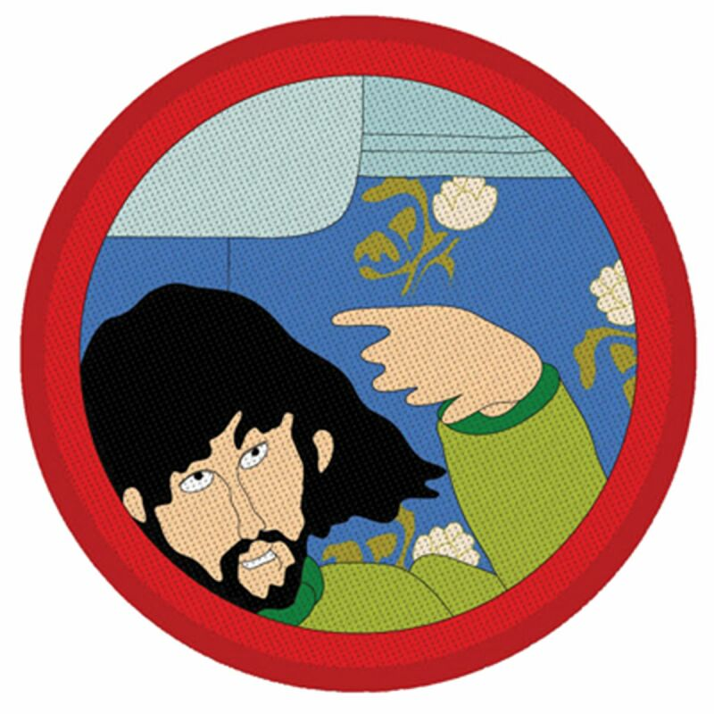 Aufnäher - The Beatles - Yellow Submarine - George Harrison - Patch