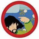 Aufnäher - The Beatles - Yellow Submarine - George...