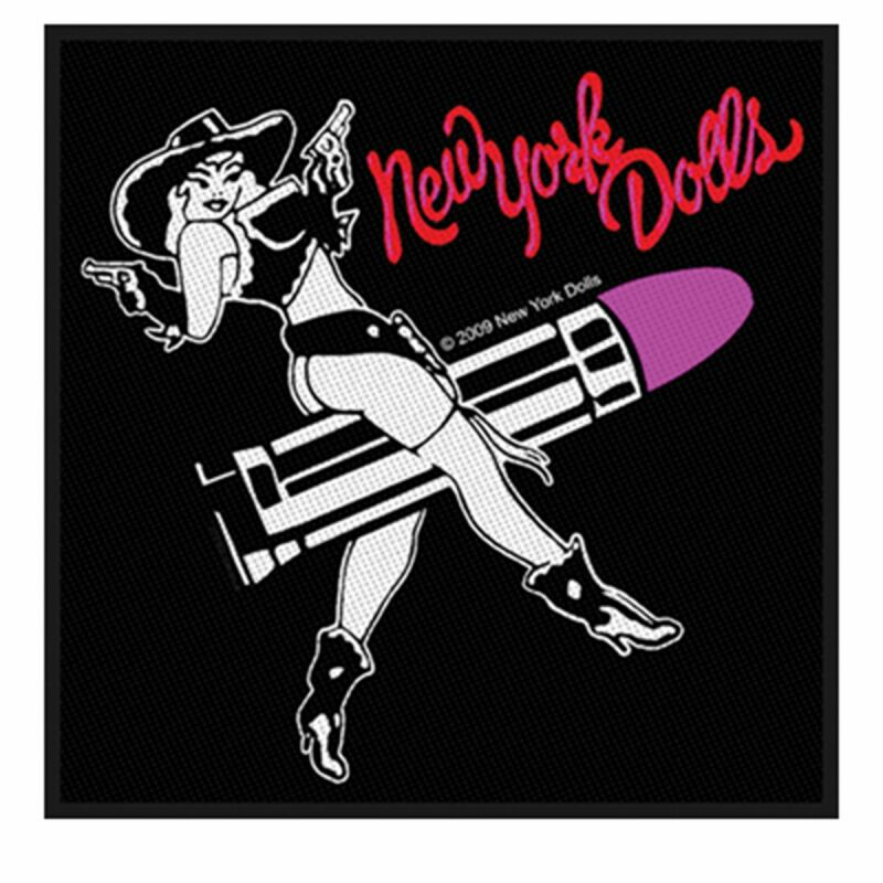 Aufnäher - New York Dolls - Riding Cowgirl - Patch