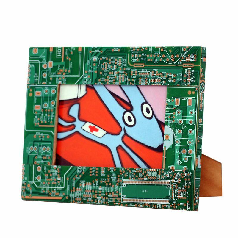 Bilderrahmen - Computer - Platinen Recycling, 22,54 SFr.