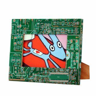Bilderrahmen - Computer - Platinen Recycling