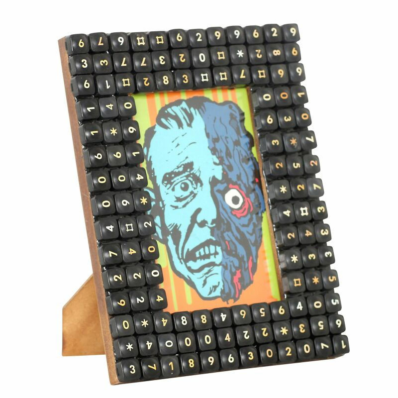 Bilderrahmen - Telefontasten - Tastatur Recycling, 19,95 €